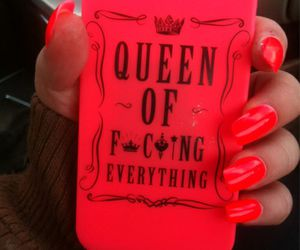 case, nails, and Queen image