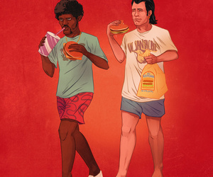 pulp fiction and art image
