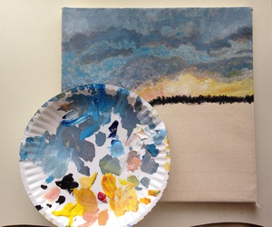 art, paint, and artsy image