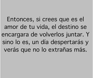 love, frases, and destino image