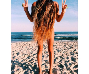 beach, sand, and bliss image