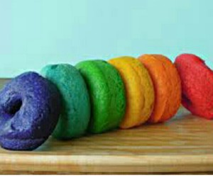 colorful, donuts, and eat image