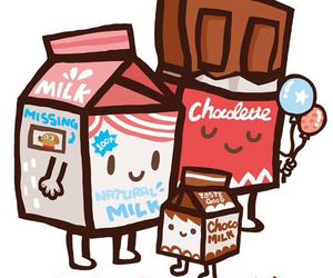milk, family, and chocolate image