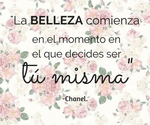 chanel, quotes, and frases en español image