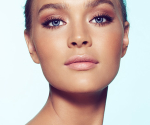beauty, makeup, and model image