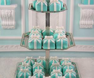 cake, tiffany, and blue image