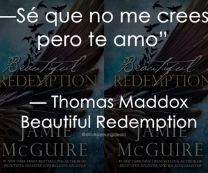 book, travis maddox, and beautiful redemption image