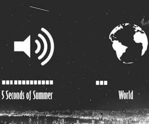 5sos, world, and music image