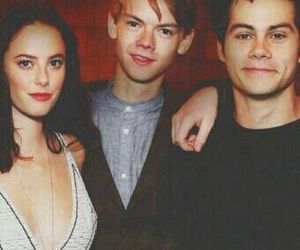 KAYA SCODELARIO, newt, and thomas image
