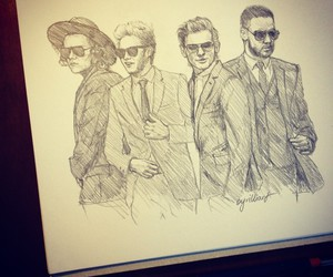 disegni, one direction, and liam payne image