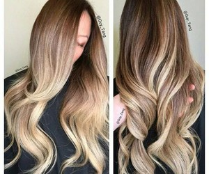 hair, nice, and style image