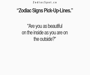 pisces, zodiac, and pick-up lines image