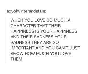 character, fandom, and happiness image