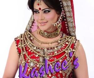 pakistani actresses, pakistani bridal makeup, and bridal makeup ideas image