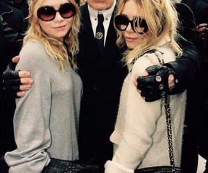 fashion, karl lagerfeld, and olsen image