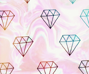 diamonds, edit, and wallpapers image
