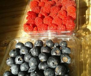 berries, blackberries, and blueberries image
