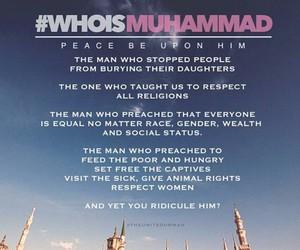 islam, prophet muhammad, and who is muhammad image