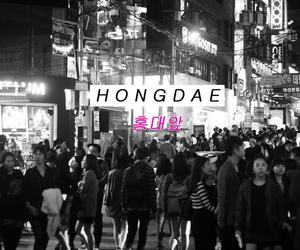 beautiful, korea, and night image