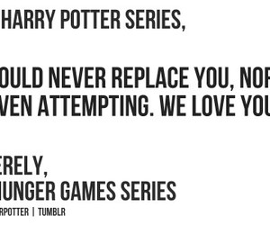 harry potter, dear, and never image