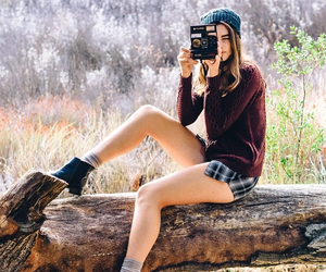 fashion, girl, and photography image