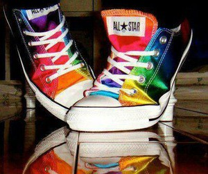 converse, cool, and many colours image