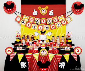 birthday, birthday party, and disney image