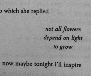 flowers, grow, and inspire image