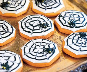 cookie, spider, and web image