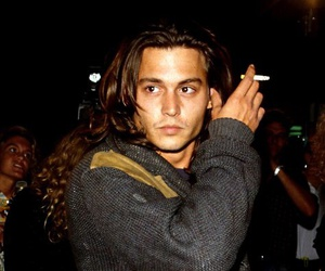 johnny depp, Hot, and smoke image