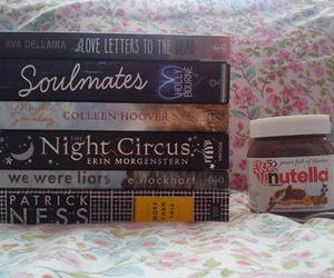 nutella, books, and chocolate image