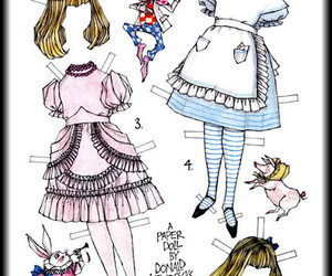 alice in wonderland and illustration image