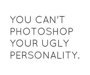 photoshop, quotes, and personality image