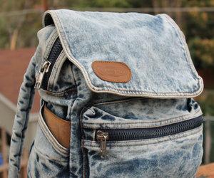 bag, fashion, and women image