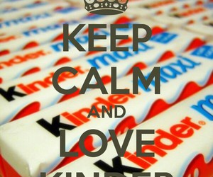 keep calm and love kinder image