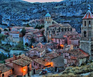 Espagne, medieval, and village image