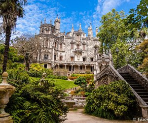portugal, sintra, and quinta da regaleira image
