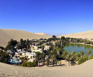 desert, oasis, and perou image