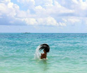 bahamas, beach, and blue image