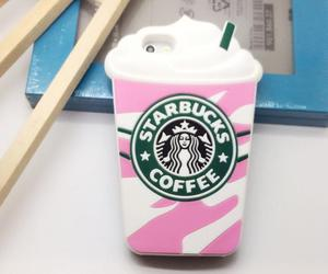 case, coffee, and pink image