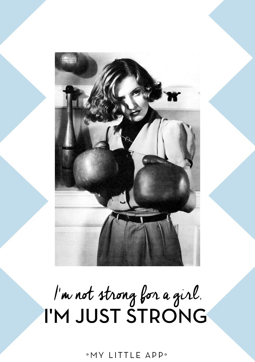 girl, strong, and feminist image