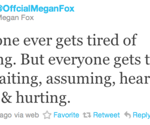 megan fox, quote, and lies image