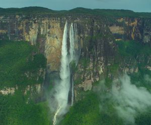 angel falls and tallest waterfall image