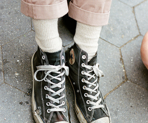 converse, photography, and shoes image