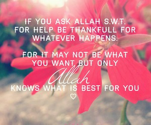 allah, flowers, and hijab image