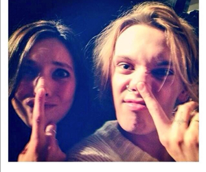 Jamie Campbell Bower and matilda lowther image