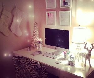 room, christmas, and bedroom image