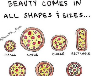 pizza, beauty, and food image