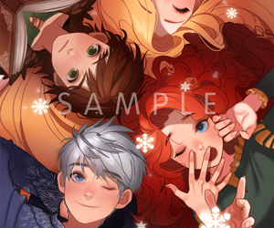 forever, jack frost, and merida image