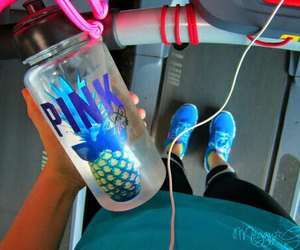 pink, motivation, and fit image